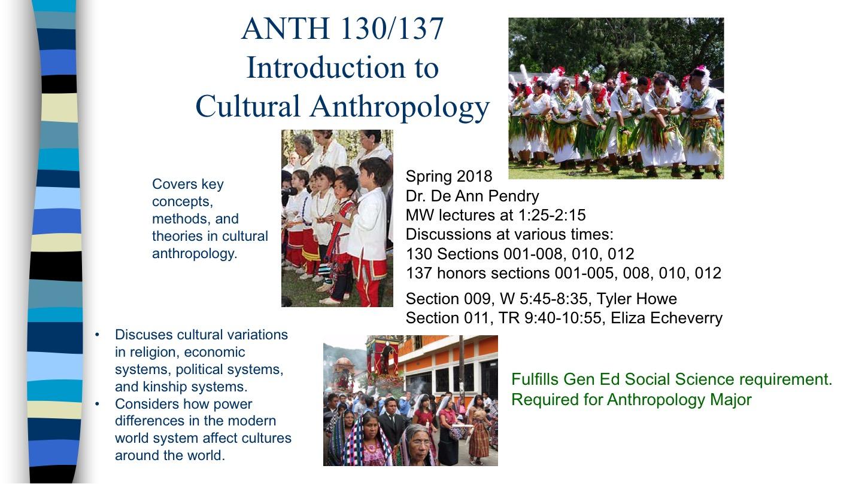anthropology 130